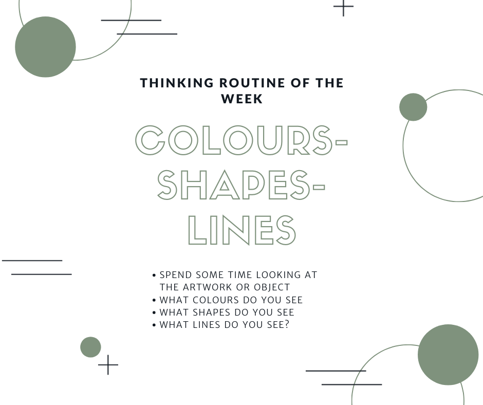 Colours Shapes Lines