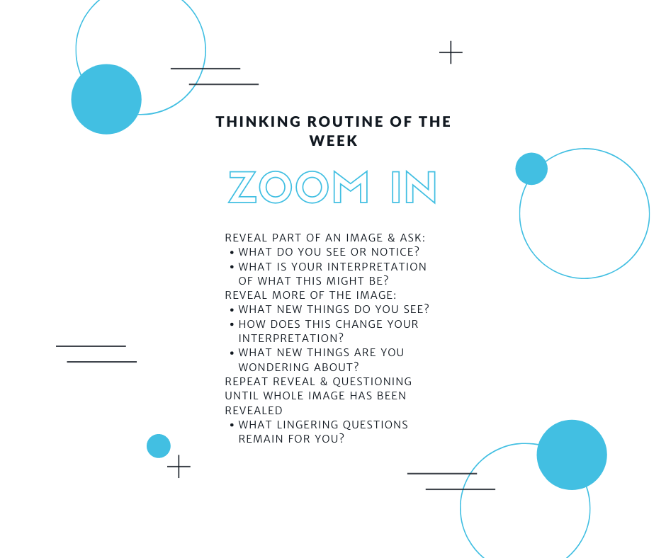 Zoom In Thinking Routine