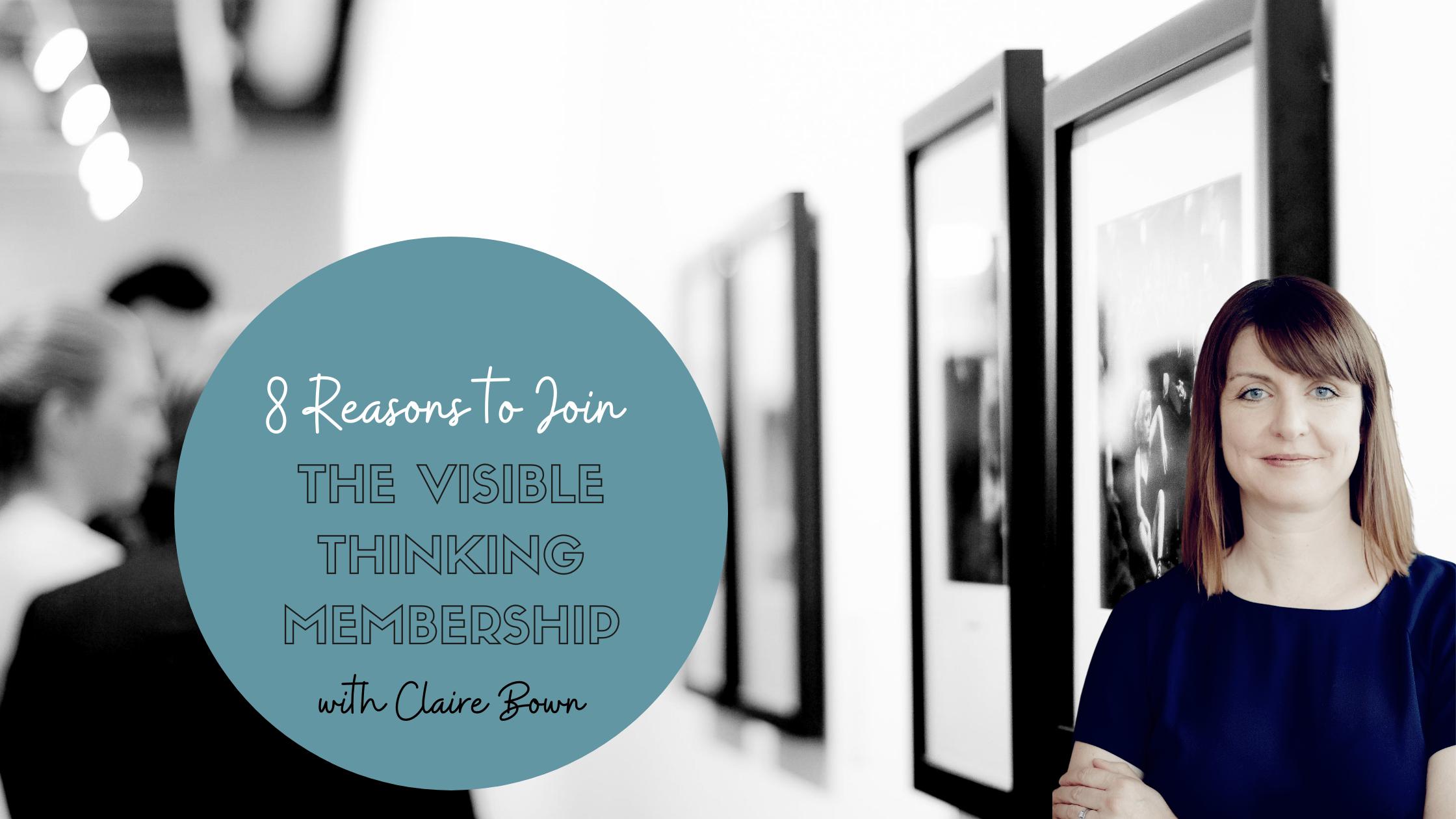 8 Reasons to Join the Visible Thinking Membership