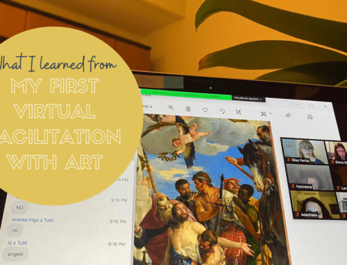 What I learned from my first virtual facilitation session with art