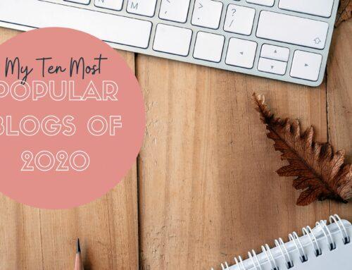 My Ten Most Popular Blog Posts of 2020