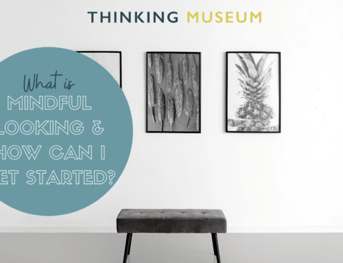 What is mindful looking and how can I get started?