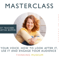 Your voice. How to look after it, use it - and engage your audience
