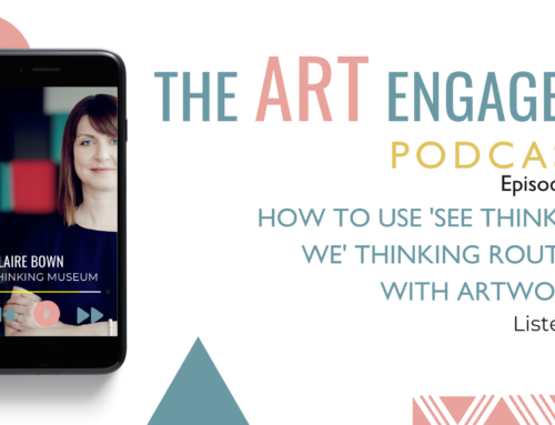 How to Use 'See Think Me We' Thinking Routine with Artworks