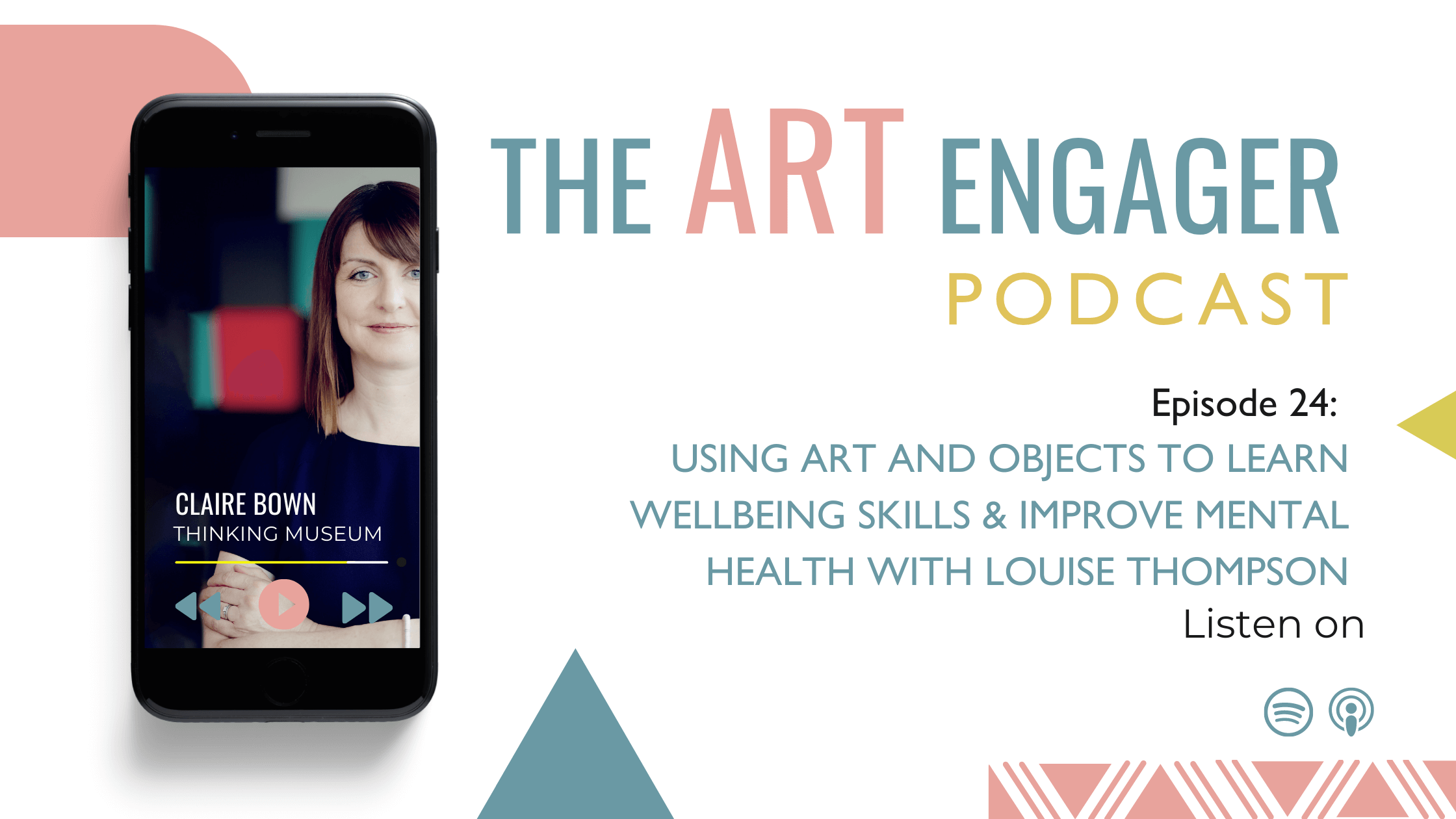 Using art and objects to learn wellbeing skills and improve mental health